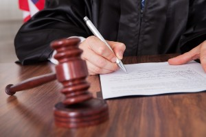 attending disability hearing before a judge