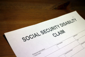 form for claiming disability