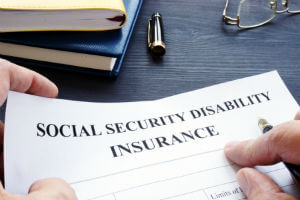 application for disability benefits