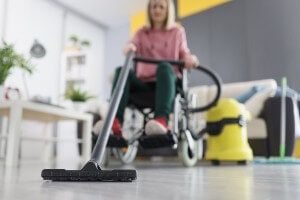 disabled applicant doing daily activities