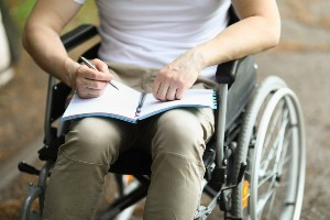 disability applicant keeping a daily journal