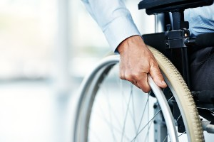 laid off disabled worker